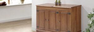 Decora tu hogar con muebles de madera